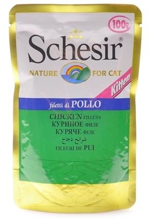 Schesir (Шезир) - Паучи для котят с курицей 100 гр