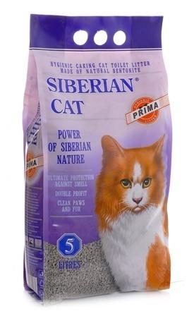 Сибирская Кошка - Наполнитель для кошек Прима 5 л (комкующийся)