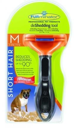 FURminator (Фурминатор) - Для собак средних короткошерстных пород 7 см