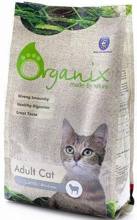 Organix (Органикс) - Гипоаллергенный корм для кошек с ягненком 18 кг