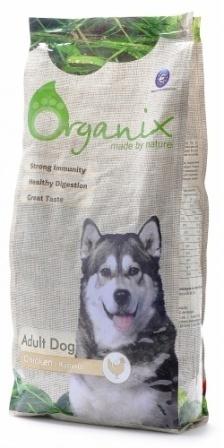 Organix (Органикс) - Корм для взрослых собак с курицей и цельным рисом 18 кг