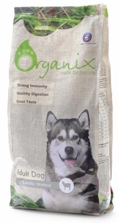 Organix (Органикс) - Корм для взрослых собак с ягненком для чувствительного пищеварения 12 кг
