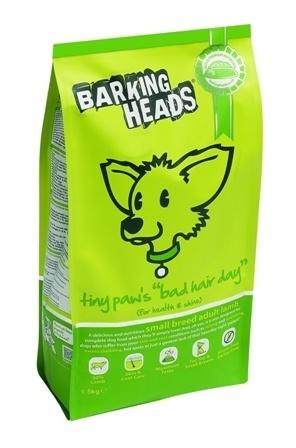 Barking Heads Bad Hair Day Mini (Баркинг Хэдз Бэд Хэар Дэй Мини) - Корм для собак мелких пород (с ягненком) 1,5 кг