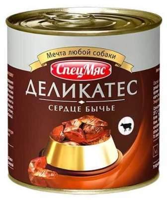 ЗООГУРМАН СпецМяс Деликатес - Сердце бычье 250 гр