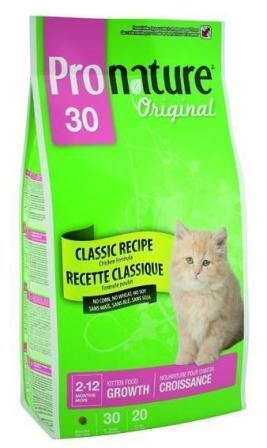 Pronature Kitten 30 (Пронатюр Киттен 30) - Корм для котят 0,35 кг