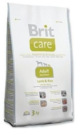 Brit Care Adult Small Breed (Брит Кеар Эдалт Смол Брид) - Корм для взрослых собак мелких пород 7,5 кг (ягненок)