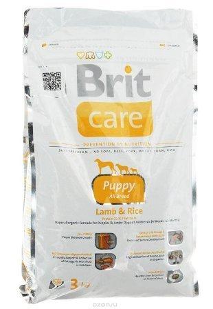 Brit Care Puppy All Breed (Брит Кеар Паппи Ол Брид) - Корм для щенков всех пород 3 кг (ягненок)