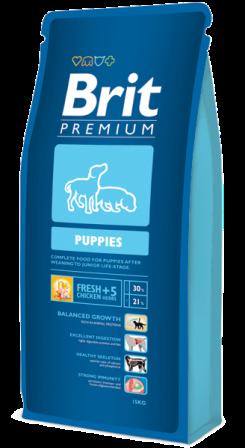 Brit Premium Puppy (Брит Премиум Паппи) - Корм для щенков всех пород 15 кг