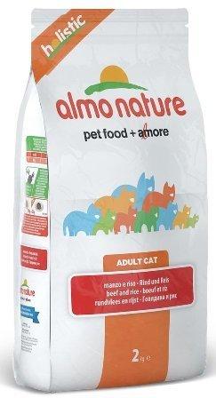 Almo Nature Adult Cat Beef &Rice (Алмо Натюр Эдалт Кэт Биф энд Райс) - Cухой корм для взрослых кошек всех пород (говядина с коричневым рисом) 0,4 кг