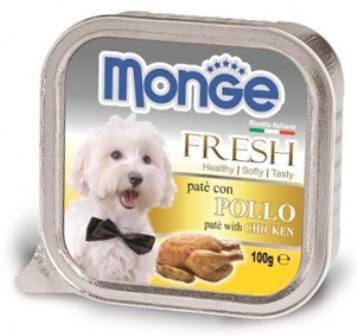 Monge Dog Fresh (Монж Дог Фреш) - Консервы для собак курица 100 г