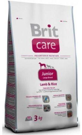Brit Care Junior Large Breed (Брит Кеар Юниор Лардж Брид) - Корм для щенков крупных пород 3 кг (ягненок)