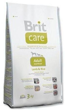 Brit Care Adult Small Breed (Брит Кеар Эдалт Смол Брид) - Корм для взрослых собак мелких пород 1 кг (ягненок)