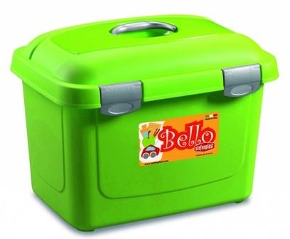 Stefanplast (Стефанпласт) - Контейнер Белло (цвет зеленый, размер 45*33*33 см, на 13 кг)