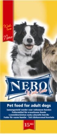 Nero Gold Economy 21/8 (Неро Голд Экономи 21/8) – Сухой корм для взрослых собак всех пород (мясной коктейль) 18 кг