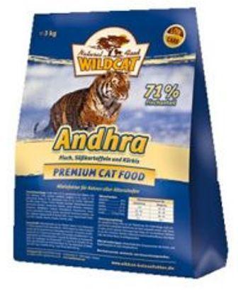 Wildcat Andrha (Вайлдкэт Андра) - Корм для кошек всех пород и возрастов (форель, рыбное ассорти) 3 кг