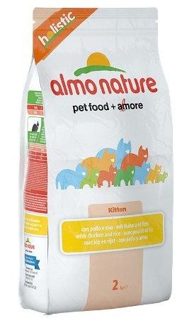 Almo Nature Kitten Chicken&Rice (Алмо Натюр Киттен Чикен энд Райс) - Cухой корм для котят всех пород (курица с коричневым рисом) 0,4 кг