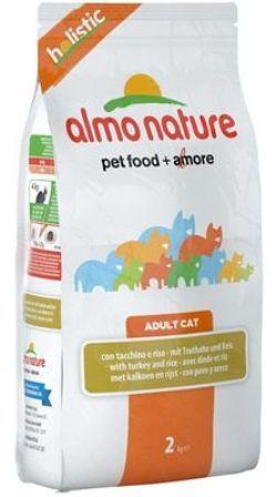 Almo Nature Adult Cat Turkey (Алмо Натюр Эдалт Токи) - Cухой корм для взрослых кошек всех пород (индейка) 2 кг