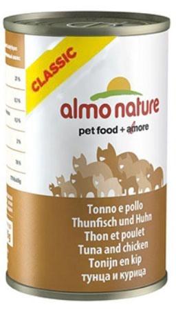 Almo Nature Adult Cat Chicken&Tuna (Алмо Натюр Эдалт Кэт Чикен энд Туна) - Консервы для взрослых кошек с курицей и тунцом 140 гр