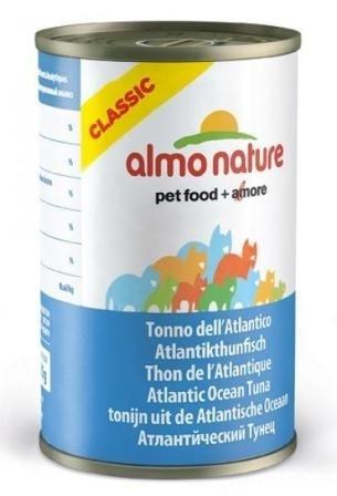 Almo Nature Adult Cat Atlantic Tuna (Алмо Натюр Эдалт Кэт Атлантик Туна) - Консервы для взрослых кошек с атлантическим тунцом 140 гр