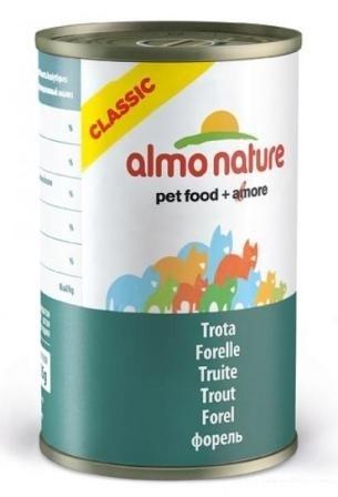 Almo Nature Adult Cat Trout (Алмо Натюр Эдалт Кэт Траут) - Консервы для взрослых кошек с форелью 140 гр