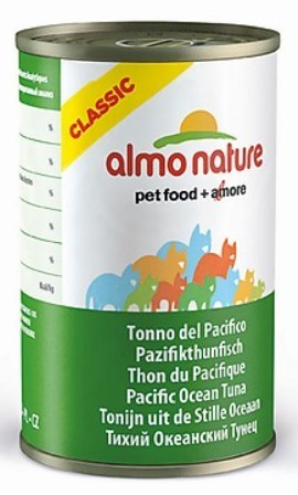 Almo Nature Adult Cat Pacific Tuna (Алмо Натюр Эдалт Кэт Пасифик Туна) - Консервы для взрослых кошек с тихоокеанским тунцом 140 гр