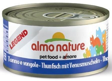 Almo Nature Legend Adult Cat Tuna&Clams (Алмо Натюр Легенд Эдалт Кэт Туна энд Кламс) - Консервы для взрослых кошек с тунцом и моллюсками 70 гр
