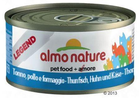 Almo Nature Legend Adult Cat Atlantic Tuna (Алмо Натюр Легенд Эдалт Кэт Атлантик Туна) - Консервы для взрослых кошек с атлантическим тунцом 70 гр