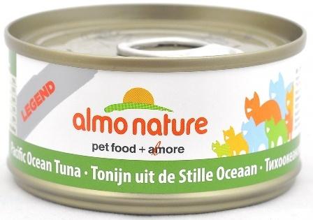 Almo Nature Legend Adult Cat Pacific Tuna (Алмо Натюр Легенд Эдалт Кэт Пасифик Туна) - Консервы для взрослых кошек с тихоокеанским тунцом 70 гр