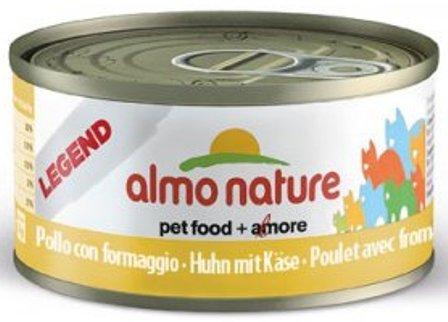 Almo Nature Legend Adult Cat Chicken&Cheese (Алмо Натюр Легенд Эдалт Кэт Чикен энд Чиз) - Консервы для взрослых кошек с курицей и сыром 70 гр