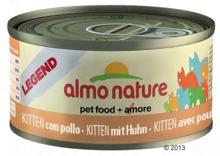 Almo Nature Legend Kitten Chicken (Алмо Натюр Легенд Киттен Чикен) - Консервы для котят с курицей 70 гр