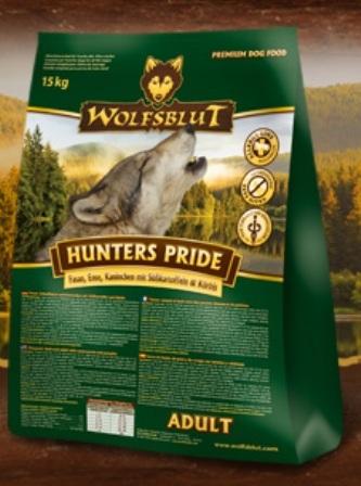 Wolfsblut Hunters Pride (Вулфсблат Хантерс Прайд) - Корм для взрослых собак всех пород Волчья кровь Гордость охотника (фазан, утка, кролик и сладкий картофель) 15 кг