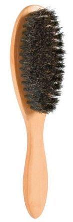 TRIXIE (Трикси) - Щетка овальная с натуральной щетиной (деревянная ручка, 22*6 см)