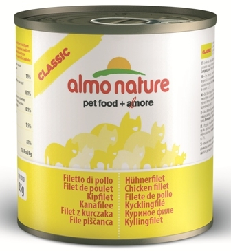 Almo Nature Adult Cat Chicken Fillet (Алмо Натюр Эдалт Кэт Чикен Филет) - Консервы для взрослых кошек Куриное филе 280 гр