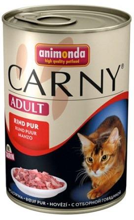 Animonda Carny Adult Beef (Анимонда Карни Эдалт Биф) - Консервы для взрослых кошек с говядиной 400 гр