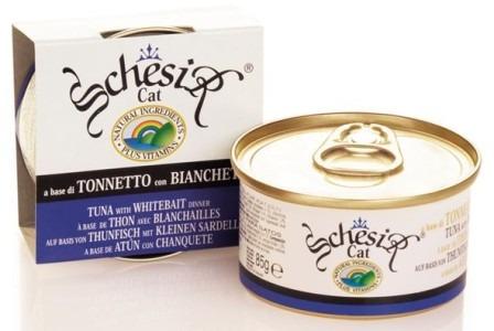 Schesir (Шезир) - Консервы для кошек с тунцом и сардинки 85 гр