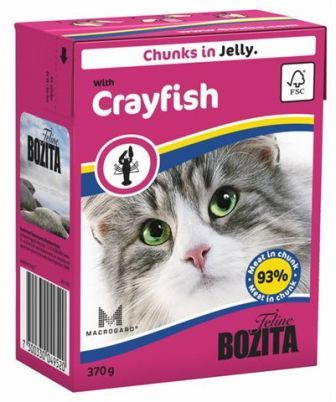 Bozita Super Premium (Бозита Супер Премиум) - Кусочки в желе для кошек с лангустом 370 гр