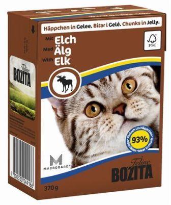 Bozita Super Premium (Бозита Супер Премиум) - Кусочки в желе для кошек c лосем 370 гр