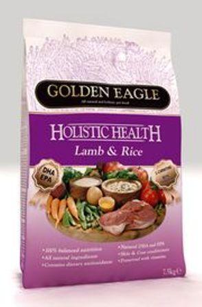 Golden Eagle Holistic Lamb (Голден Игл Холистик Лэмб) - Корм для взрослых собак всех пород (с мясом ягненка) 12 кг