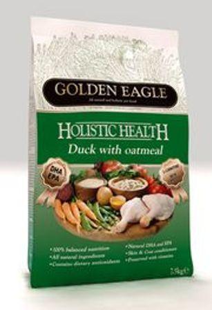 Golden Eagle Holistic Duck (Голден Игл Холистик Дак) - Корм для взрослых собак всех пород (с мясом утки) 2 кг