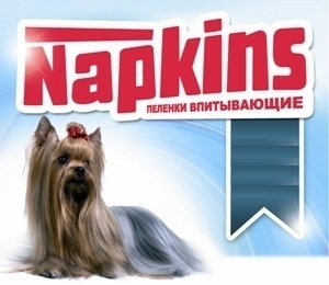 Napkins (Напкинс) - Пеленки впитывающие 60*60 см (5 штук)