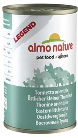 Almo Nature Adult Cat Eastern Little Tuna (Алмо Натюр Эдалт Кэт Истер Литтл Туна) - Консервы для взрослых кошек с пятнистым индо-тихоокеанским тунцом 140 гр