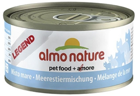Almo Nature Legend Adult Cat Mixed Seafood (Алмо Натюр Легенд Эдалт Кэт Миксд Сиафуд) - Консервы для взрослых кошек с морепродуктами 70 гр