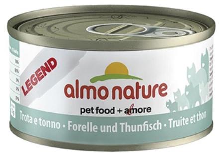 Almo Nature Legend Adult Cat Trout&Tuna (Алмо Натюр Легенд Эдалт Кэт Траут энд Туна) - Консервы для взрослых кошек с форелью и тунцом 70 гр