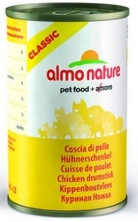 Almo Nature Adult Cat Chicken Drumstick (Алмо Натюр Эдалт Кэт Чикен Драмстик) - Консервы для взрослых кошек Аппетитные куриные бедрышки 140 гр