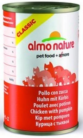 Almo Nature Adult Cat Chicken&Pumpkin (Алмо Натюр Эдалт Кэт Чикен энд Пампкин) - Консервы для взрослых кошек с курицей и тыквой 140 гр