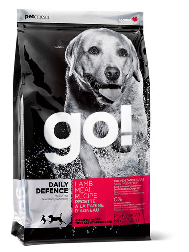 Go!Natural! Daily Lamb Dog Recipe 24/14 (Гоу!Нэтурал! Дейли Лэмб Дог Ресайп 24/14) - Корм для собак всех пород и возрастов (с ягненком) 11,35 кг