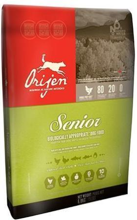 Orijen Senior 75/25 (Ориджен Сеньор 75/25) - Корм для пожилых собак всех пород (БЕЗЗЕРНОВОЙ) 13 кг