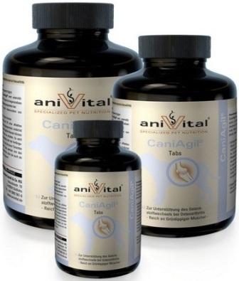 Anivital CaniAgil (Анивитал Каниагил) - Витамины для поддержания функции хрящей и суставов 120 таб.