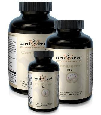 Anivital CaniDerm (Анивитал КаниДерм) - Витамины для улучшения состояния кожи и шерсти 225 таб.