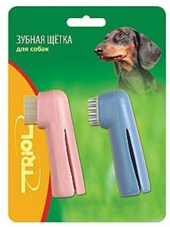 Triol (Триол) - Зубная щетка-напальчник 2 шт.